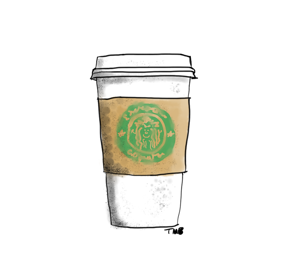 The gallery for starbucks drink transparent background - Grille pain transparent ...