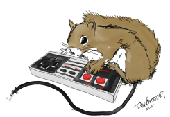 Squirrel on game controller.png